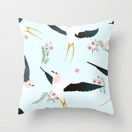 Birds #society6 #decor #buyart Throw Pillow