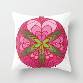 LOVE grows life seed Throw Pillow