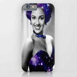 Dorothy Dandridge Purple Galaxy iPhone Case