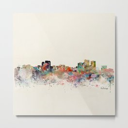 anchorage skyline Metal Print