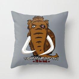 Terminammoth Throw Pillow