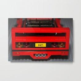 F40 Rear Metal Print