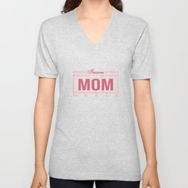 """Funny and hilarious tee design for kids out there! Grab this """"Insane in the Mom Brain"""" tee now!  Unisex V-Neck"""