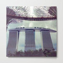 The Marina Bay Sands Metal Print