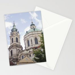 Church in Prague Stationery Cards