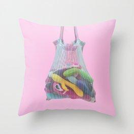 Sex toy bag Throw Pillow