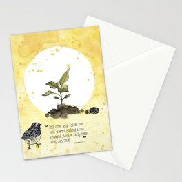 4 Parable of the Sower Series - The Good Soil Stationery Cards