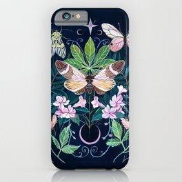 Cicada Moon iPhone Case