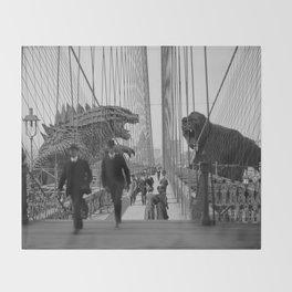 Old Time Godzilla vs. King Kong Decke