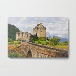 Eilean Donan Castle, Scotland Metal Print