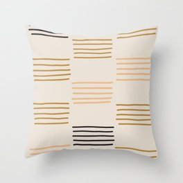 hatches Throw Pillow
