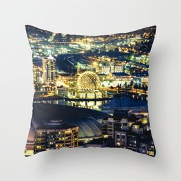 1417 Science World Vancouver Throw Pillow