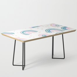 Rainbow Chroma Pastel Coffee Table