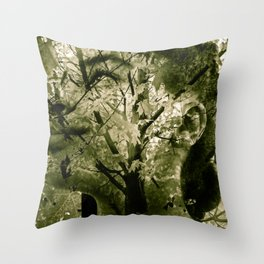 """Coming Of Fall 2"" Throw Pillow"