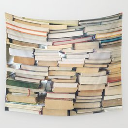 Books, Pages, Stories Wall Tapestry