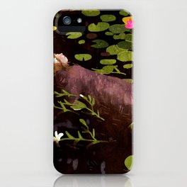 Ophelia iPhone Case
