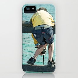 Grandfathers are just antique little boys iPhone Case