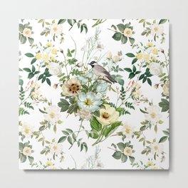 WHITE FLOWERS BOUQUET  Metal Print