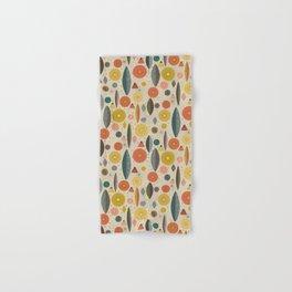 Mid Century Modern Eucalyptus with Retro Vibes Hand & Bath Towel