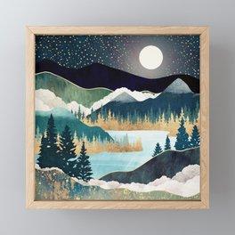 Star Lake Framed Mini Art Print