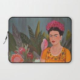 Frida a la casa azul Laptop Sleeve