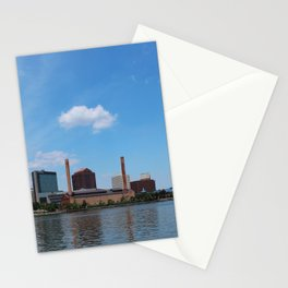 Toledo Skyline in the Spring I Stationery Cards