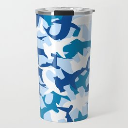Shark Camo Travel Mug