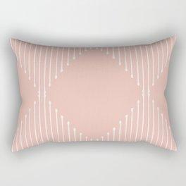 Geo / Blush Rectangular Pillow