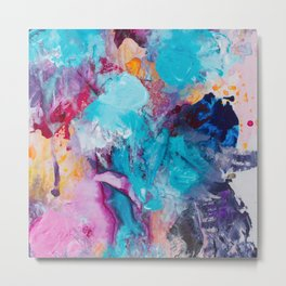 Beautiful Accidents (Bright Beauty) Metal Print