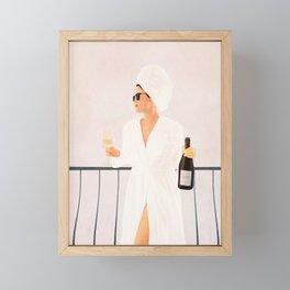Morning Wine II Framed Mini Art Print
