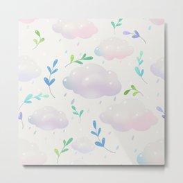 April clouds Metal Print