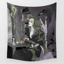 Let Your Hair Down Wall Tapestry