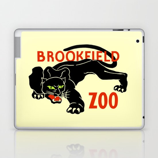 Black panther Brookfield Zoo ad by aapshop