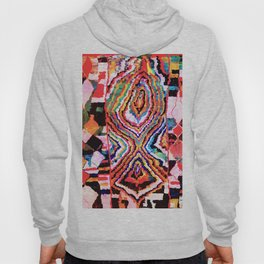 Bold Abstract Rug Pattern  Hoody
