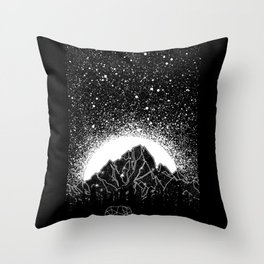 Stars and Lines Throw Pillow