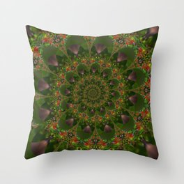 Spiral Droste Pattern Throw Pillow