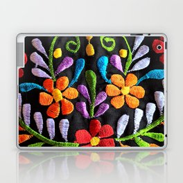 Mexican Flowers Laptop & iPad Skin