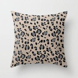 Leopard Animal Print Glam #15 #pattern #decor #art #society6 Throw Pillow