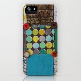 Patchwork 1 iPhone Case