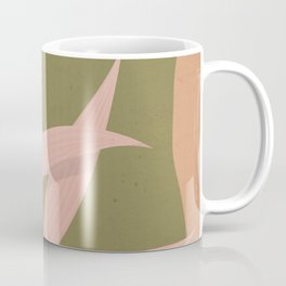 Tropical Leaf- Abstract Art 2 Coffee Mug