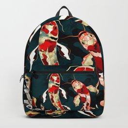 Metallic Koi Backpack