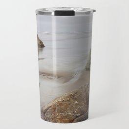Cloudy Day At Moonstone Travel Mug