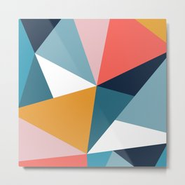 Modern Geometric 35 Metal Print
