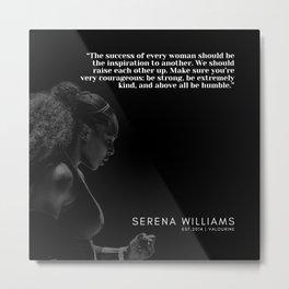 1  |  Serena Williams Quotes | 190518 Metal Print