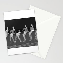 Manikin - Glitch Art Stationery Cards