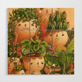 Plant-minded Wood Wall Art