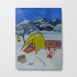 Alone in the wilderness Metal Print