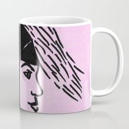 Deer Woman - Lilac Palette Coffee Mug