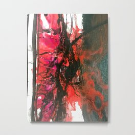 Abstract color explosion Metal Print