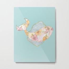 tropical watercolor fish Metal Print